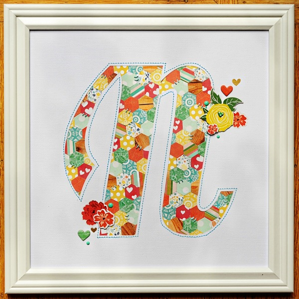 #monogram by Tonya Dirk for MME