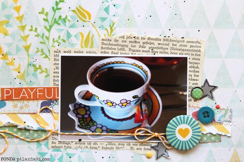 Ronda Palazzari A cup of Comfort details