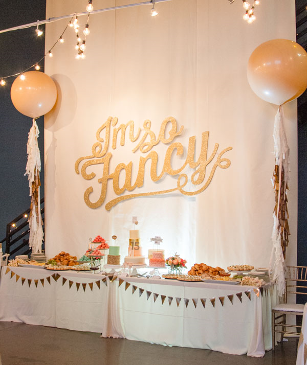 I'm So Fancy Blogger's Event with My Mind's Eye #party #partydecor #mmefancyparty #mmepapergoods
