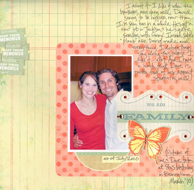 Gretchen McElveen_we are family-july challenge